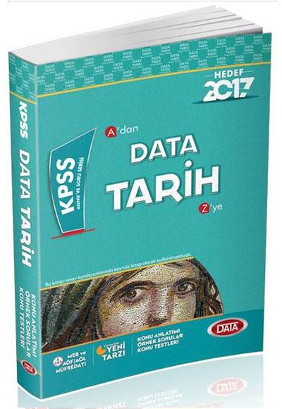 2017 Kpss Tarih Konu Anlatımlı Data Yayınları 9786059754743