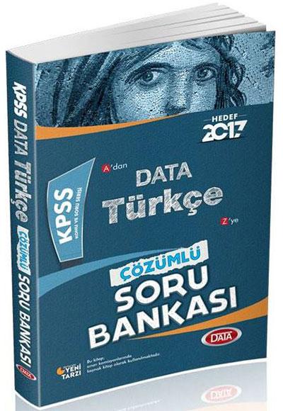 Kpss Türkçe çözümlü Soru Bankası Data Yayınları 9786059754835