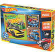 Kırkpabuç Puzzle 25 36 49 Parça Hot Wheels Go On Green 6853