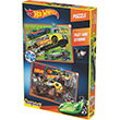 Kırkpabuç Puzzle 60 90 Parça Hot Wheels Fast and Strong 6854