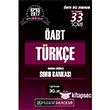 2017 ÖABT Türkçe Öğretmenliği Tamamı Çözümlü Soru Bankası Pegem Yayınları