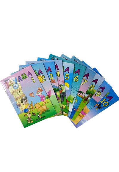 Renkli Süper Boyama Seti 10 Boyama Kitabı Ince Yuva Yayınları