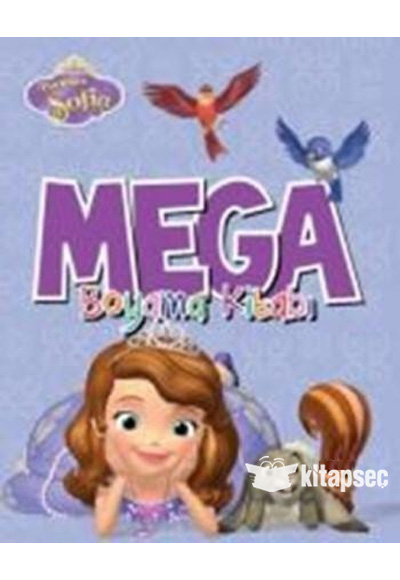 Disney Prenses Sofia Mega Boyama Kitabi Dogan Egmont Yayincilik