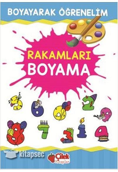 Rakamları Boyama çilek Kitaplar 9789759189853