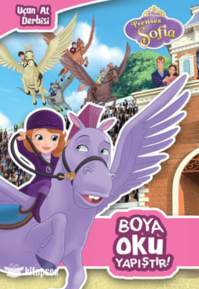 Disney Prenses Sofia Ucan At Derbisi Boya Oku Yapistir Dogan