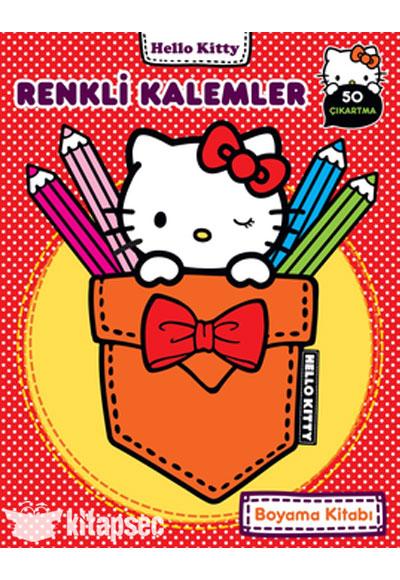 Hello Kitty Renkli Kalemler Boyama Kitabı Doğan Egmont Yayıncılık