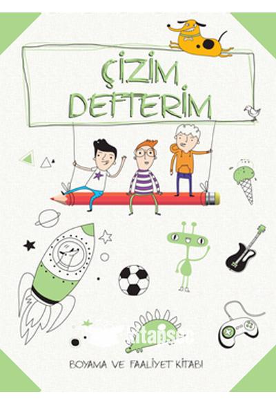 çizim Defterim Boyama Ve Faaliyet Yeşil Doğan Egmont Yayıncılık