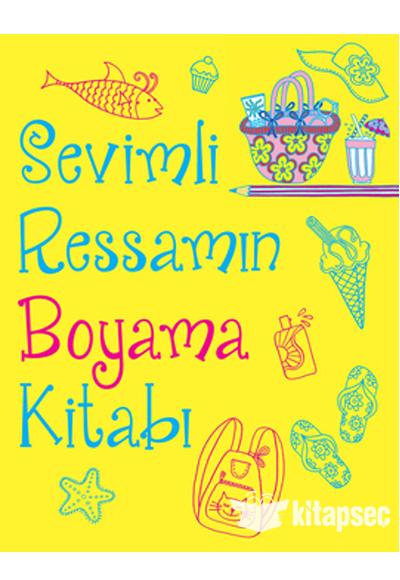 Sevimli Ressamin Boyama Kitabi Dogan Egmont Yayincilik 9786050927825