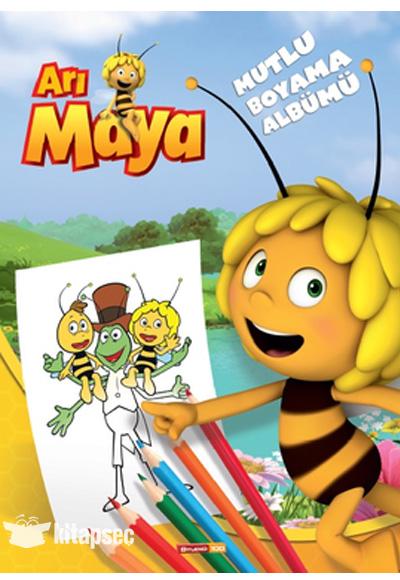 Ari Maya Mutlu Boyama Albumu Dogan Egmont Yayincilik 9786050916867