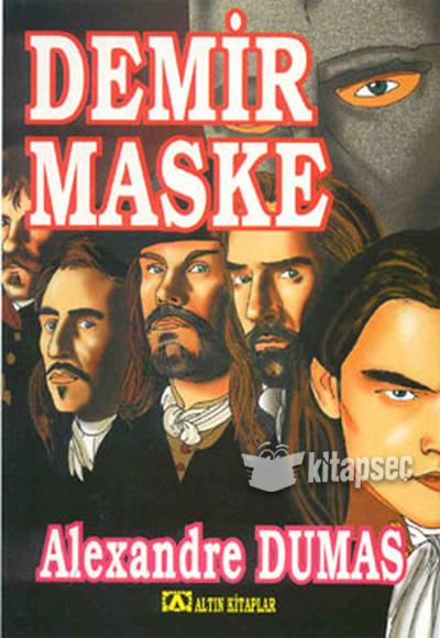 Demir Maske Altın Kitaplar 9789754058222