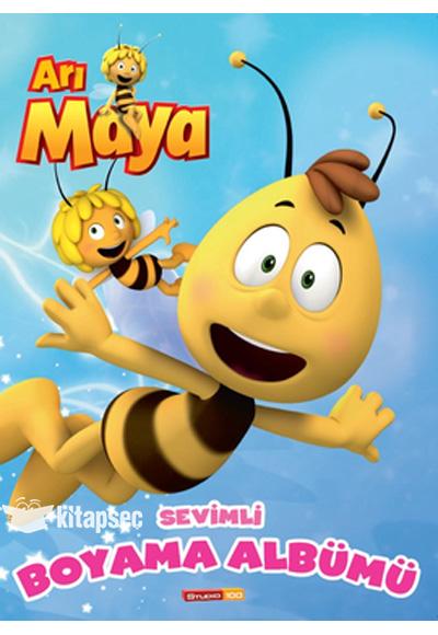 Ari Maya Sevimli Boyama Albumu Dogan Egmont Yayincilik 9786050914313