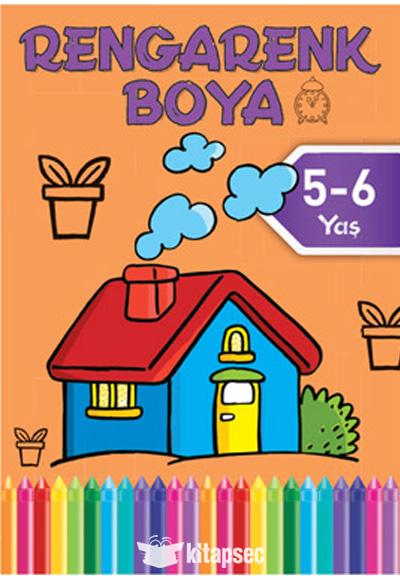 Rengarenk Boya Turuncu Kitap 5 6 Yas Dogan Egmont Yayincilik