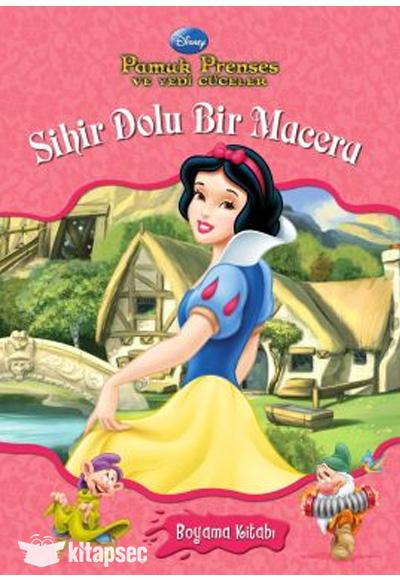 Prenses Pamuk Prenses Ve Yedi Cuceler Sihir Dolu Bir Macera Boyama
