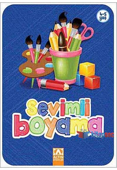 Sevimli Boyama Lacivert Altın Kitaplar 9789752119741