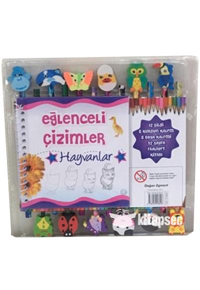 Eglenceli Cizimler Hayvanlar Dogan Egmont Yayincilik 9786050928228