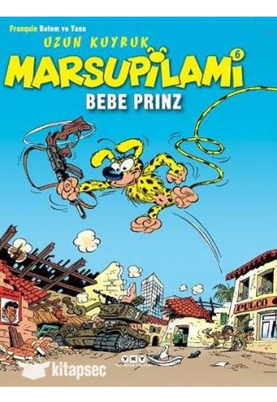Uzun Kuyruk Marsupilami 6 Bebe Prinz Yapı Kredi Yayınları