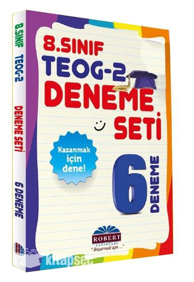 8 Sınıf Teog 2 Dönem 6 Deneme Robert Yayınları 9786055341398