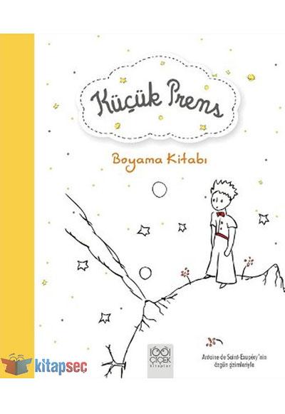 Küçük Prens Boyama Kitabı 1001 çiçek Kitaplar 9786053412489