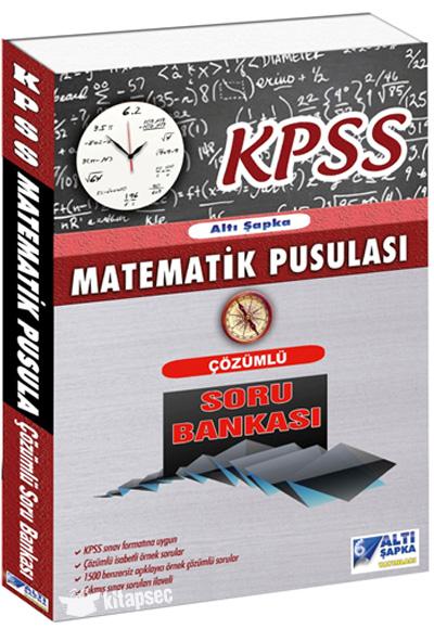 2017 Kpss Matematik Pusulası çözümlü Soru Bankası Altı şapka
