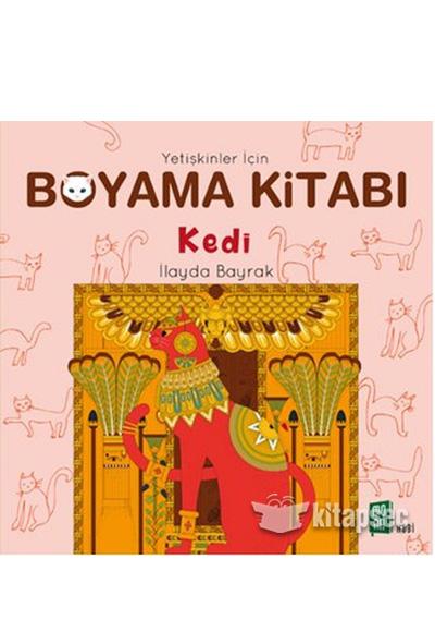 Yetiskinler Icin Boyama Kitabi Kedi Mona Kitap 9786059709316