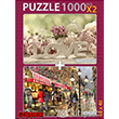 Love Evenıng Cafe 2X1000 Parça Puzzle Gordion