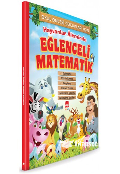 Hayvanlar Aleminde Eglenceli Matematik Ema Cocuk 9786058376632
