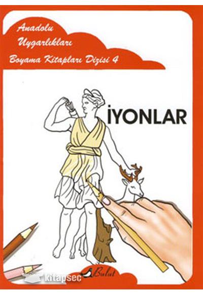 Anadolu Uygarlıkları Boyama Kitapları 4 Bulut Yayınları 9789752863552
