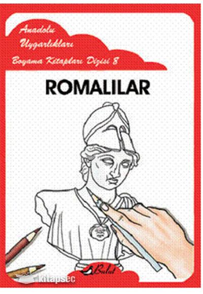 Anadolu Uygarlıkları Boyama Kitapları 8 Bulut Yayınları 9789752863620
