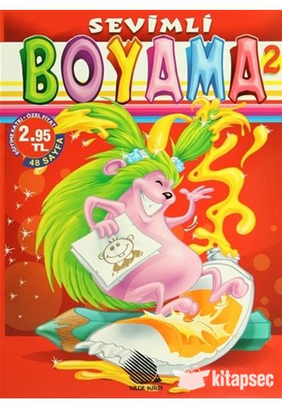 Sevimli Boyama 2 Kirpi Yayıncılık 9789944453769