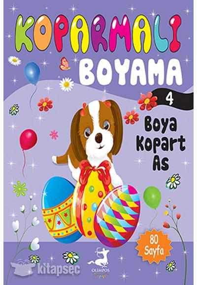 Koparmali Boyama 4 Olimpos Yayinlari 9786056530210