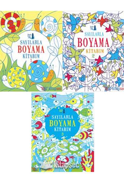 Sayılarla Boyama 3 Lü Set Büyülü Fener Yayınları 4957
