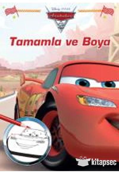 Disney Arabalar Tamamla Ve Boya Dogan Egmont 9786050940824