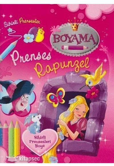 Prenses Rapunzel Boyama Kitabi Parilti Yayinlari 9786051008059