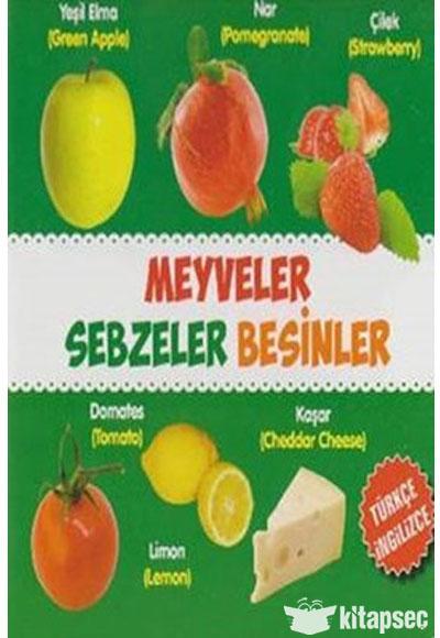 Meyveler Sebzeler Besinler Turkce Ingilizce Parilti