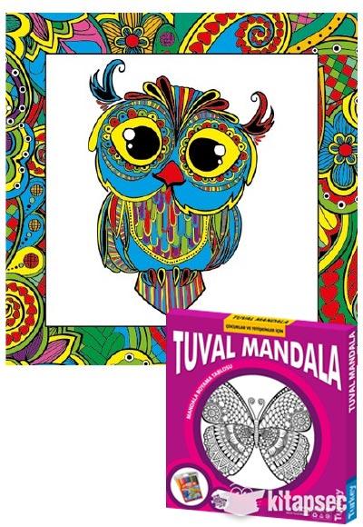 Tuval Mandala Baykuş Mnd 10 Kum Toys 86810490511724
