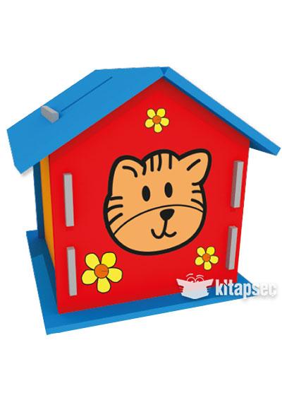 Ahşap Kumbara Boyama Kum Toys 8681049052186