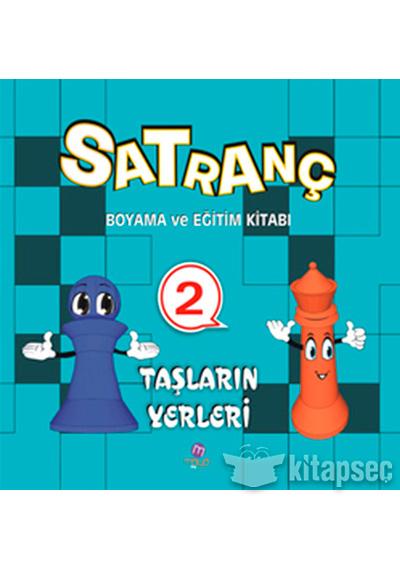 Satranç Boyama Kitabı 2 Maya Kitap Yayınları 9786055675479