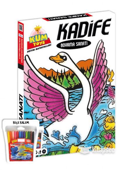 Kadife Boyama Sanatı Kuğu Kdf01 Kum Toys 86810490522095