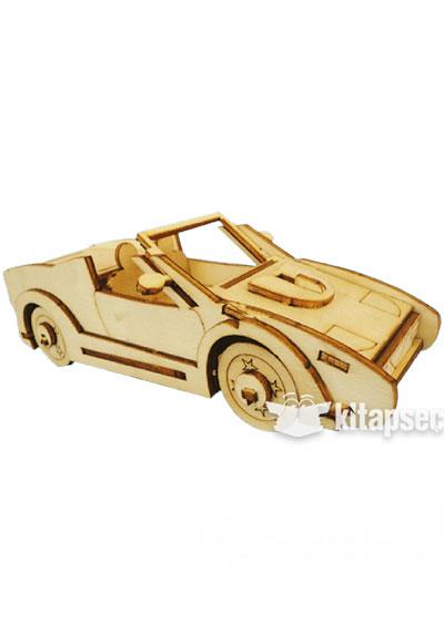 Ahsap Maket Spor Araba Mk12 Kum Toys 868104905018213