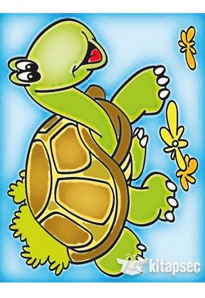 Ahşap Boyama Kaplumbağa A114 Kum Toys 86810490501373