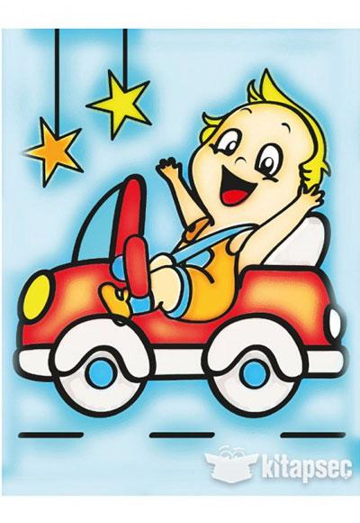 Ahşap Boyama Araba 1 A116 Kum Toys 86810490501371