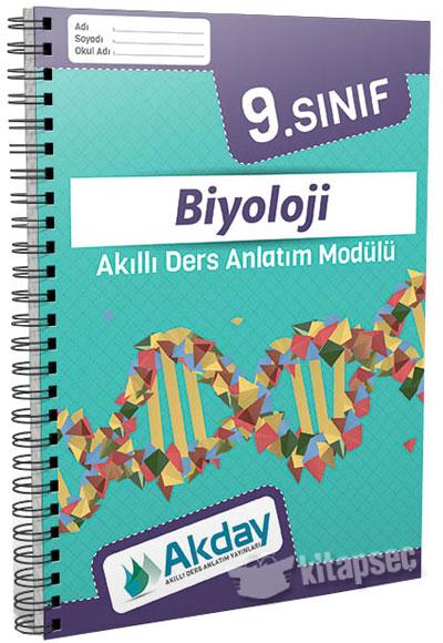 9 Sınıf Biyoloji Akıllı Ders Anlatım Modülü Akday Yayınları