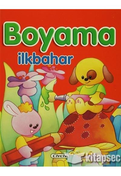 Boyama Ilkbahar Civciv Yayinlari 9786054669936