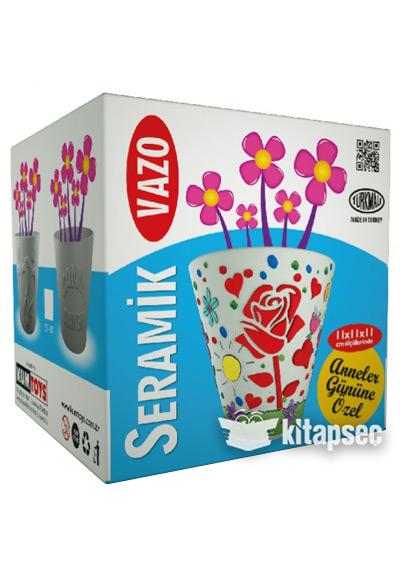 Seramik Vazo Boyama Kalp Sv01 Kum Toys 97860510002163