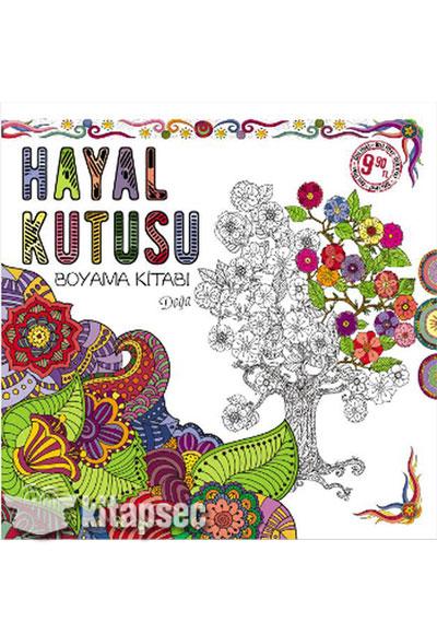Hayal Kutusu Boyama Kitabi Doga Eksik Parca Yayinlari 9786059864503