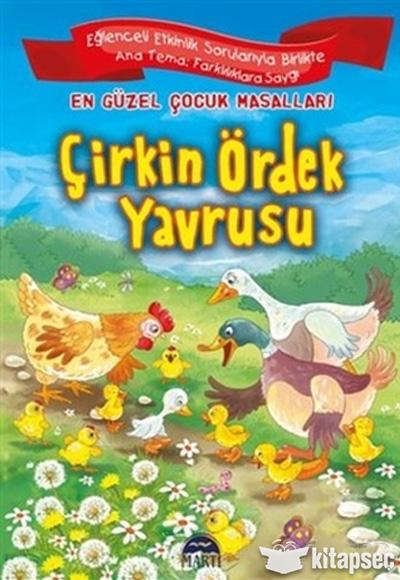 çirkin ördek Yavrusu Martı Yayınları 9786053489887