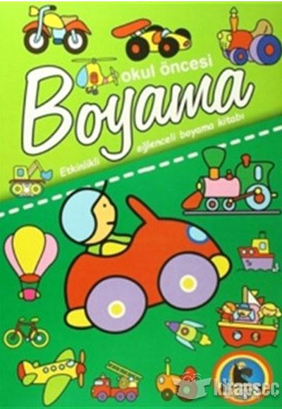 Okul Oncesi Boyama Etkinlikli Eglenceli Dev Boyama Kitabi 5 Kitap