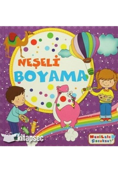 Neşeli Boyama Mavi Lale Yayınları 9786054902682
