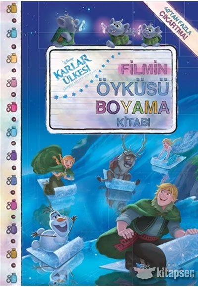 Disney Karlar Ulkesi Filmin Oykusu Boyama Kitabi Dogan Egmont