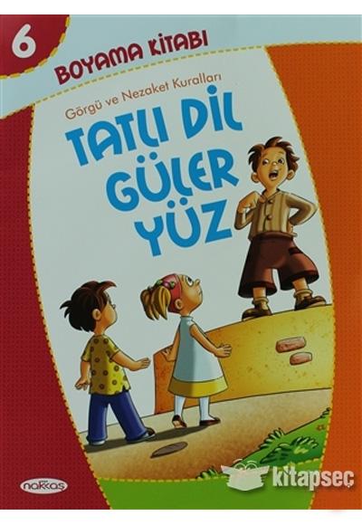 Boyama Kitabi 6 Tatli Dil Guler Yuz Nakkas Yapim Ve Produksiyon
